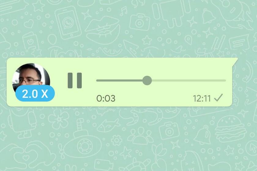 Najnowsza aktualizacja WhatsApp pozwala przyspieszać wiadomości głosowe