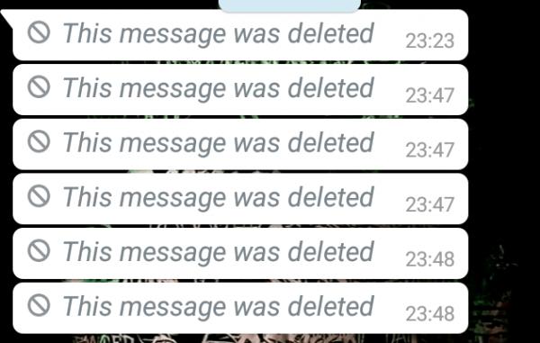 Imagine de la Cum să citești un mesaj șters primit pe WhatsApp