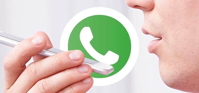 image of cum sa inregistrezi un mesaj audio pe whatsapp fara a tine apasat butonul pentru microfon