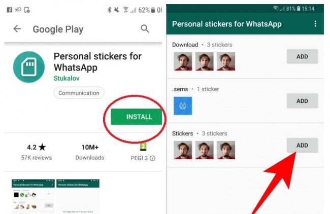 image stickere pentru whatsapp