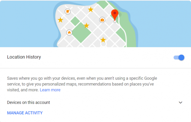 image for dezactivare locatie android