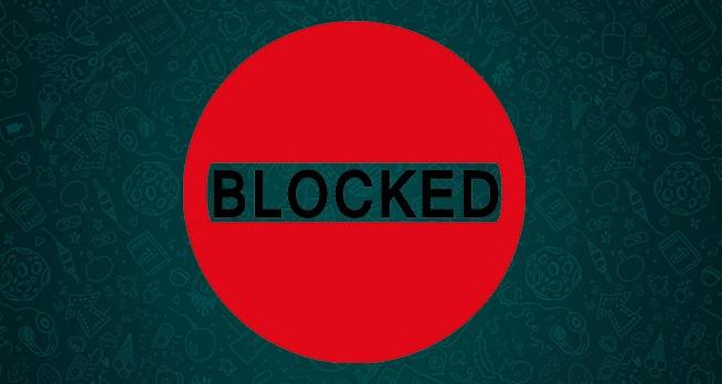 image whatsapp blocat