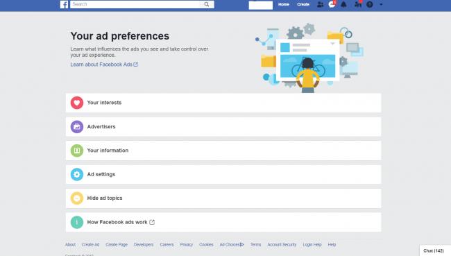 image for facebook ads