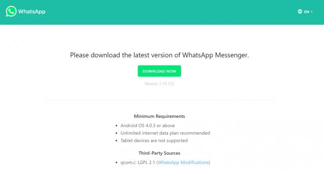image for whatsapp update
