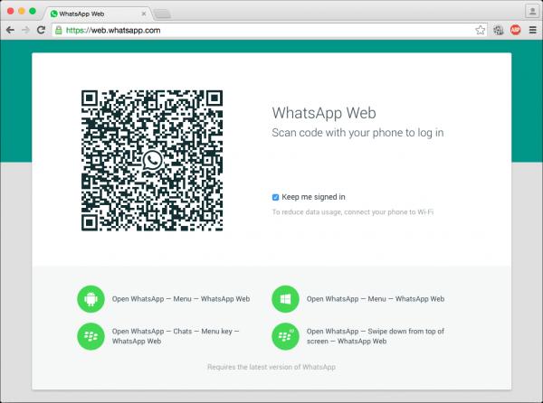 Image 1 Ce faci când nu merge WhatsApp Web