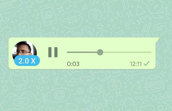 Ultimul update al WhatsApp te ajută să asculți pe repede înainte mesajele vocale