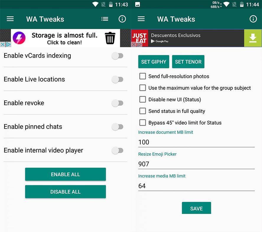 Image 2 - Hướng dẫn cách kích hoạt những tính năng ẩn trên WhatsApp cho Android