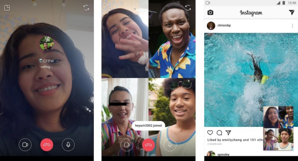 Image 1 Instagram chính thức ra mắt tính năng gọi video trực tiếp cho nhóm đến 4 người