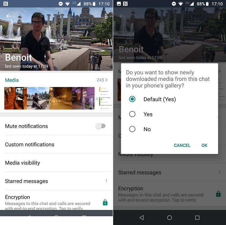 image of Hướng dẫn cách giấu hình ảnh không mong muốn từ WhatsApp trên thiết bị Android