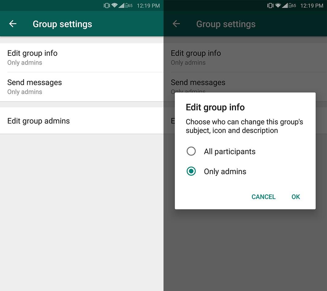 image 3 of Hướng dẫn tạo các kênh như Telegram trên ứng dụng WhatsApp