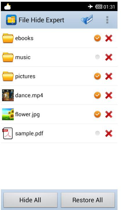 1.Hướng dẫn cách ẩn tập tin, hình ảnh và video trên thiết bị Android