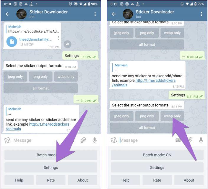 3_Hướng dẫn cách tải và sử dụng hình dán của Telegram cho WhatsApp trên Android