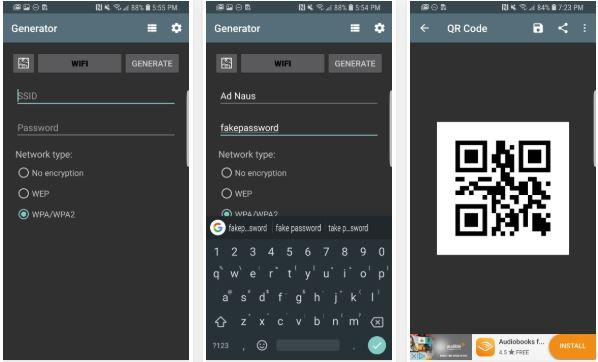 2_Hướng dẫn cách chia sẻ mật khẩu mạng Wifi an toàn qua mã QR trên Android