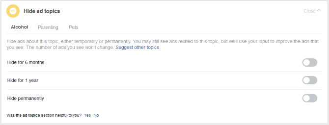 3_Hướng dẫn quản lý các tùy chọn quảng cáo trên Facebook