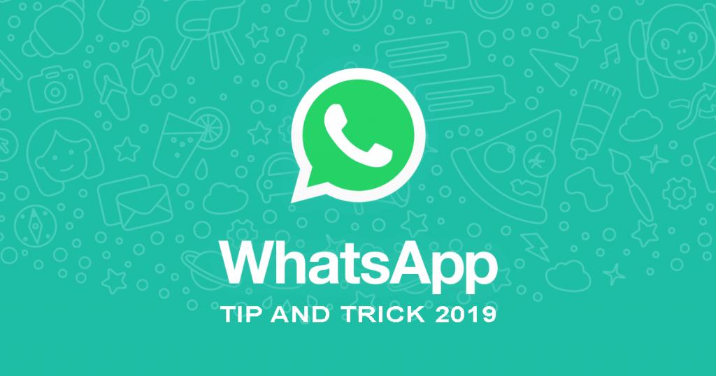 "image of ""5 อันดับเทคนิค WhatsApp ใหม่ล่าสุดปี 2019"""