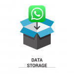 "image of ""ควบคุมพื้นที่หน่วยความจำที่ใช้โดย WhatsApp บนแอนดรอยด์"""