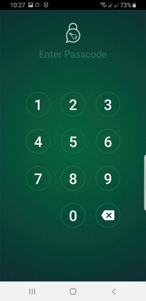 "image of ""วิธีใส่รหัสล็อกให้กับ WhatsApp"""