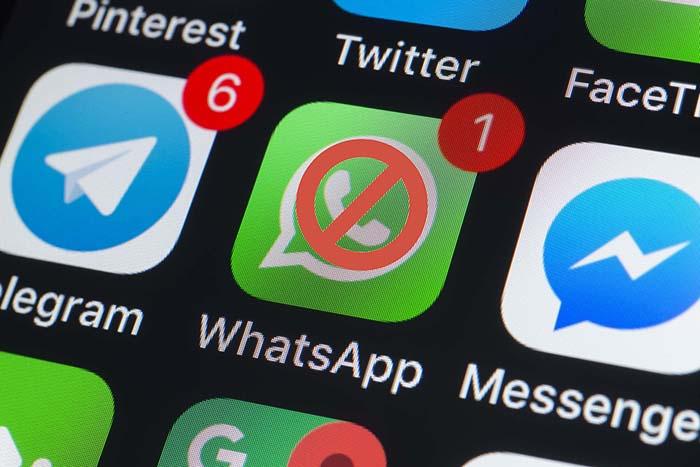 "image of ""ส่งข้อความให้กับคนใน WhatsApp หลังจากโดนบล็อก"""