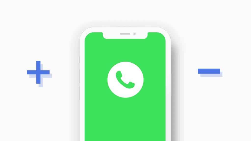 ข้อดีและข้อเสียของแอปพลิเคชัน WhatsApp