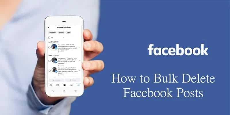 วิธีลบโพสต์บน facebook พร้อมกันหลายโพสต์แบบง่ายๆ