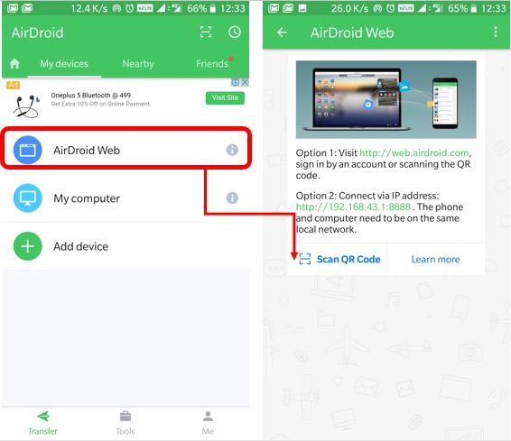airdroid-remote-connection-mode-bar-code-scanner