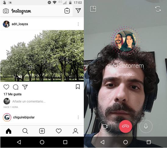 Imagen 3 - Cómo hacer videollamadas en Instagram