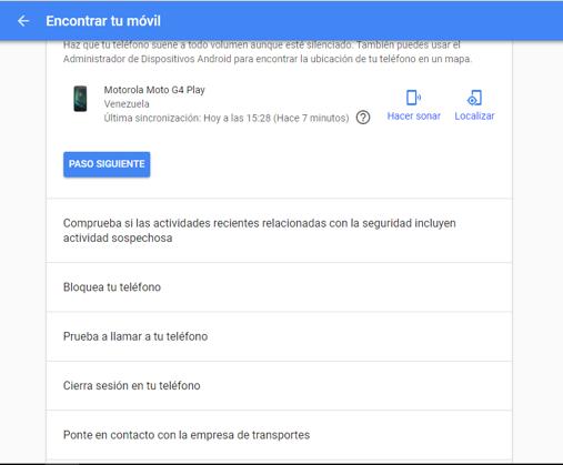 Imagen 3 - Dos formas para desbloquear tu Android si has olvidado la contraseña