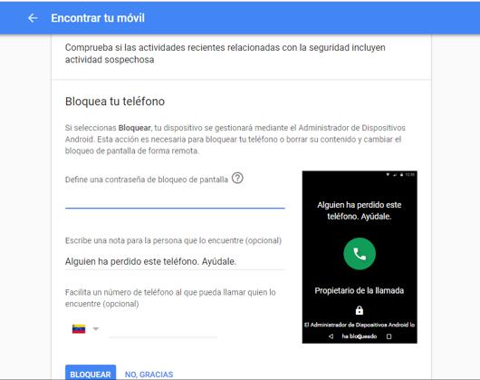 Imagen 4 - Dos formas para desbloquear tu Android si has olvidado la contraseña