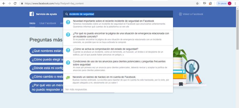 Imagen 3 - Descubre si tu cuenta de Facebook ha sido hackeada
