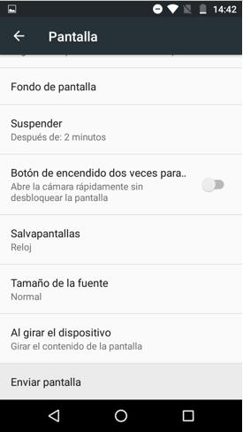 Imagen 3 - 2 formas para conectar tu móvil Android con una Smart TV