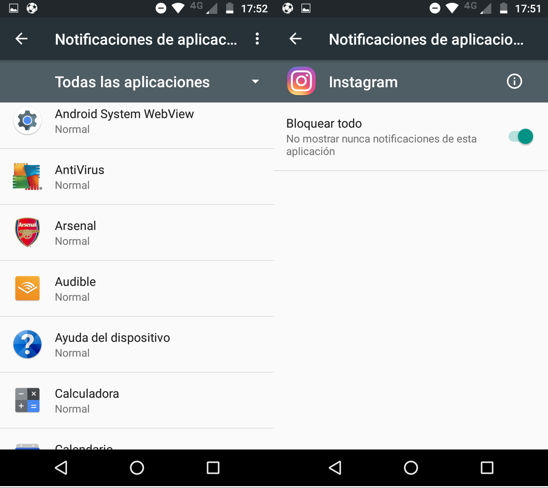 Imagen 4 - Aprende a bloquear notificaciones de cualquier aplicación en Android