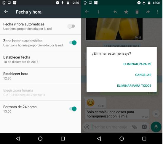 Imagen 5 - Cómo borrar mensajes antiguos de WhatsApp