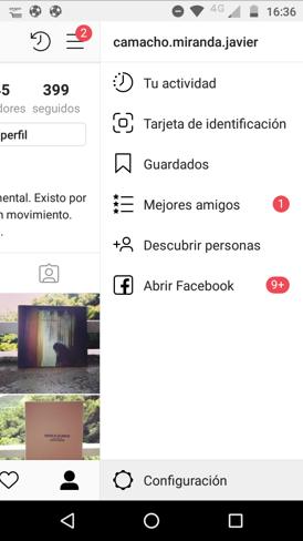 Imagen 3 - Cómo ocultar tu estado de actividad en Instagram