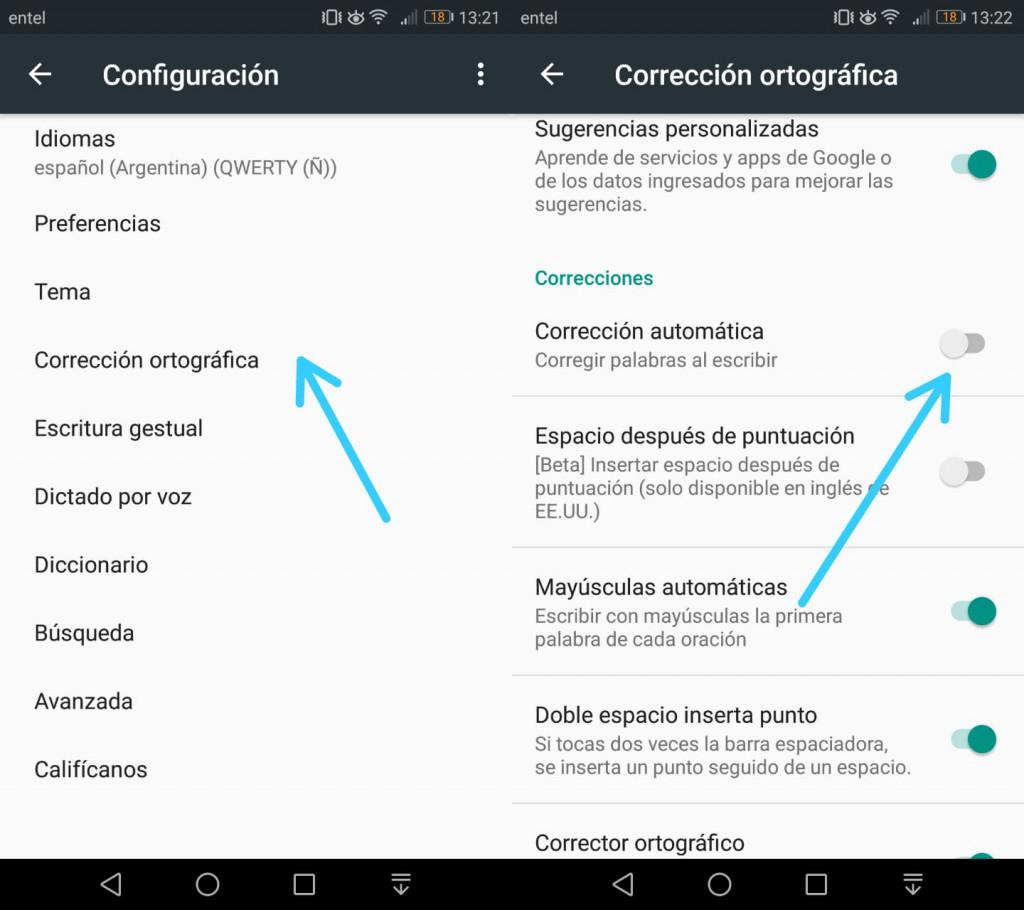 Imagen4 ¿Cómo activar y desactivar el corrector ortográfico de tu Android?