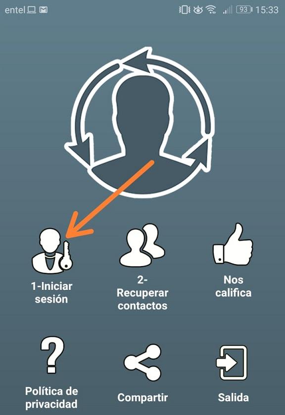 Imagen 1 ¿Cómo recuperar los contactos borrados en Android?