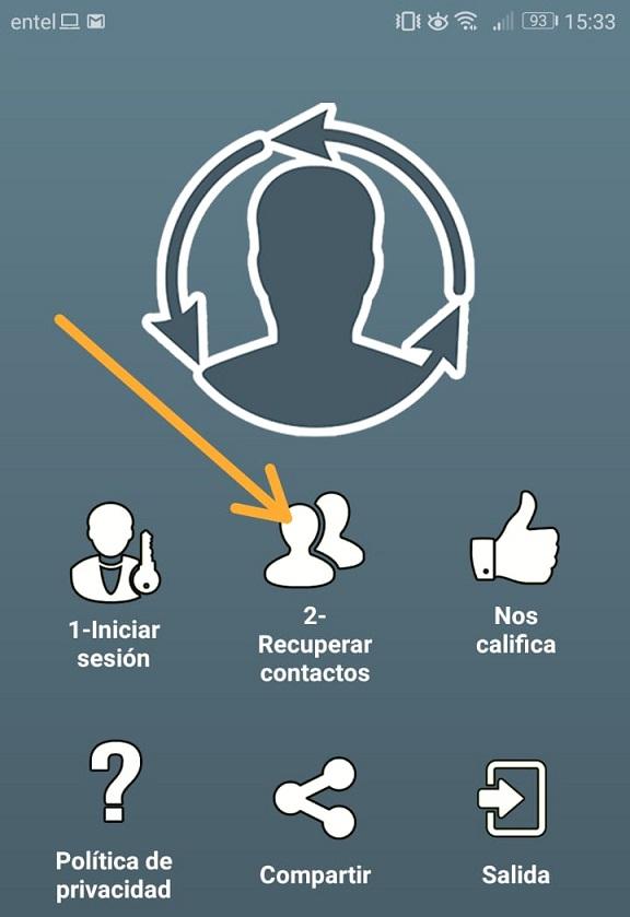 Imagen 3 ¿Cómo recuperar los contactos borrados en Android?