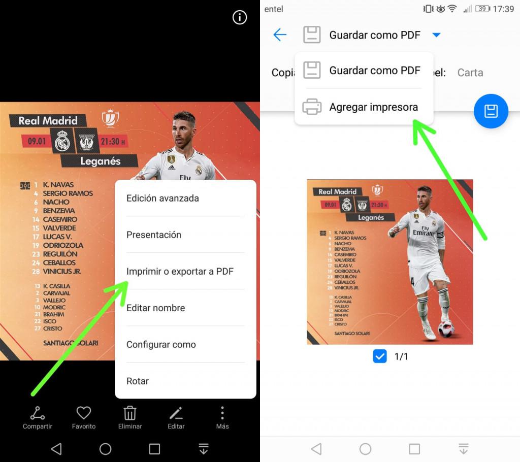 Imagen 6 Imprime directamente desde tu Android