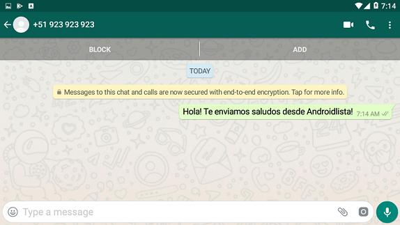 Imagen 2 ¡Envía mensajes de WhatsApp a contactos que no están en tu agenda!