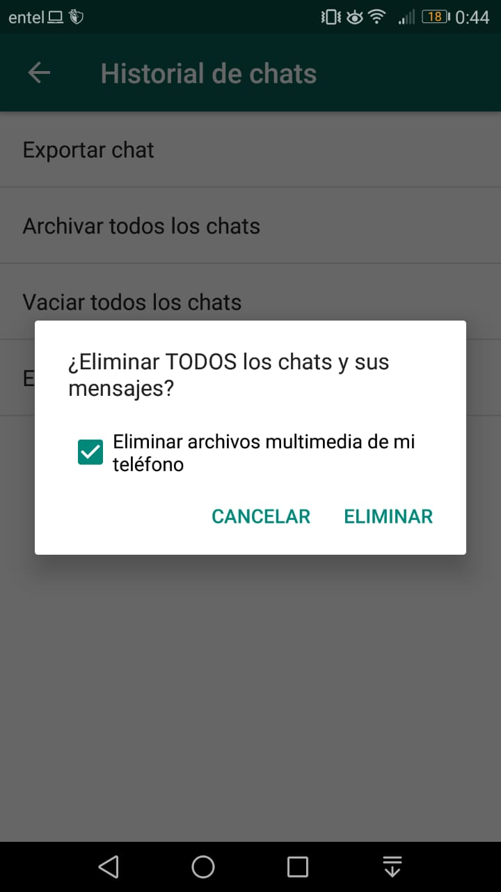 Imagen2 ¡Controla el espacio ocupado por WhatsApp en tu Android!