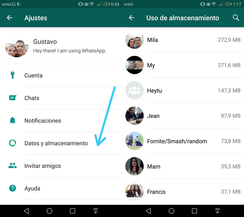 Imagen3 ¡Controla el espacio ocupado por WhatsApp en tu Android!