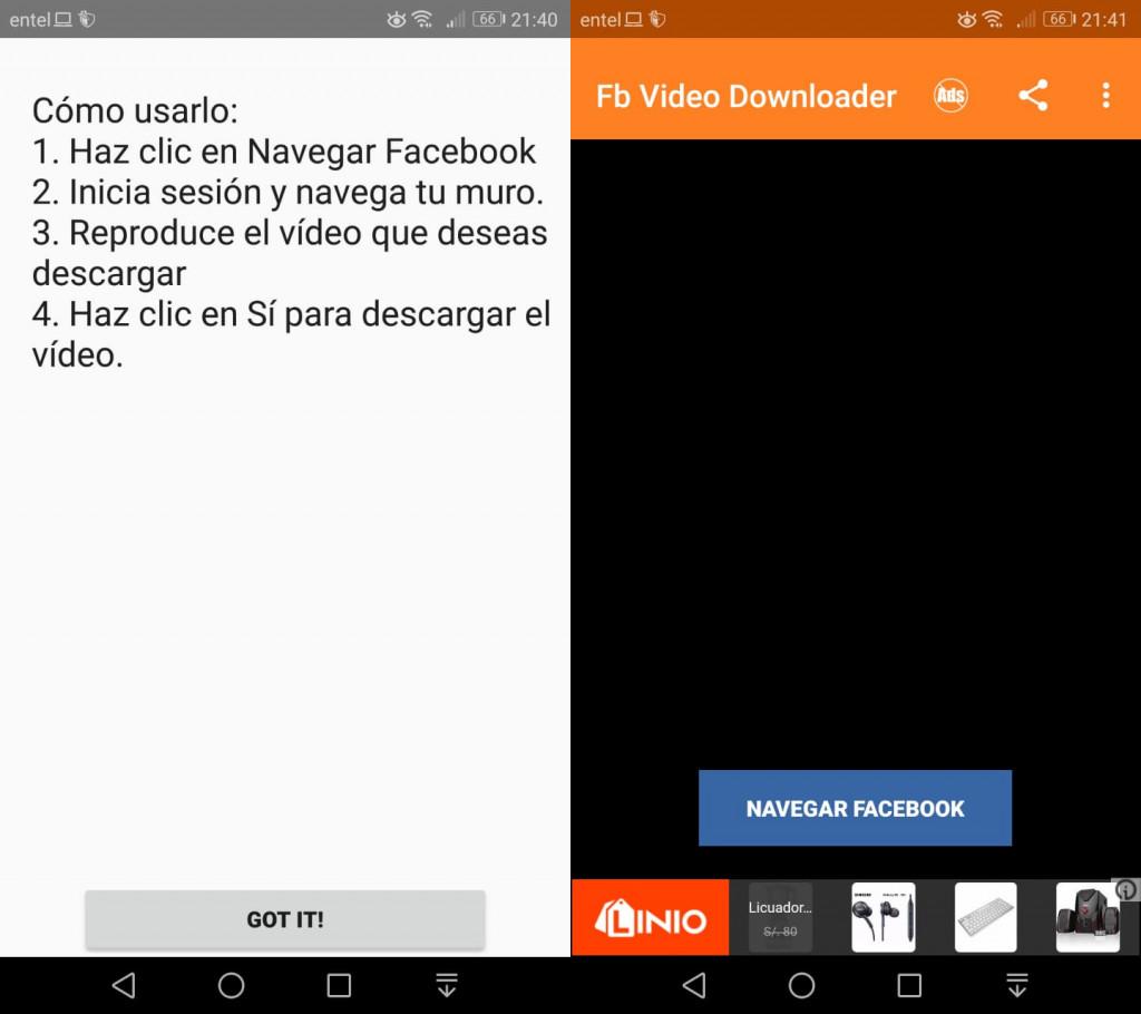 Imagen1 ¿Cómo descargar videos de Facebook en Android?