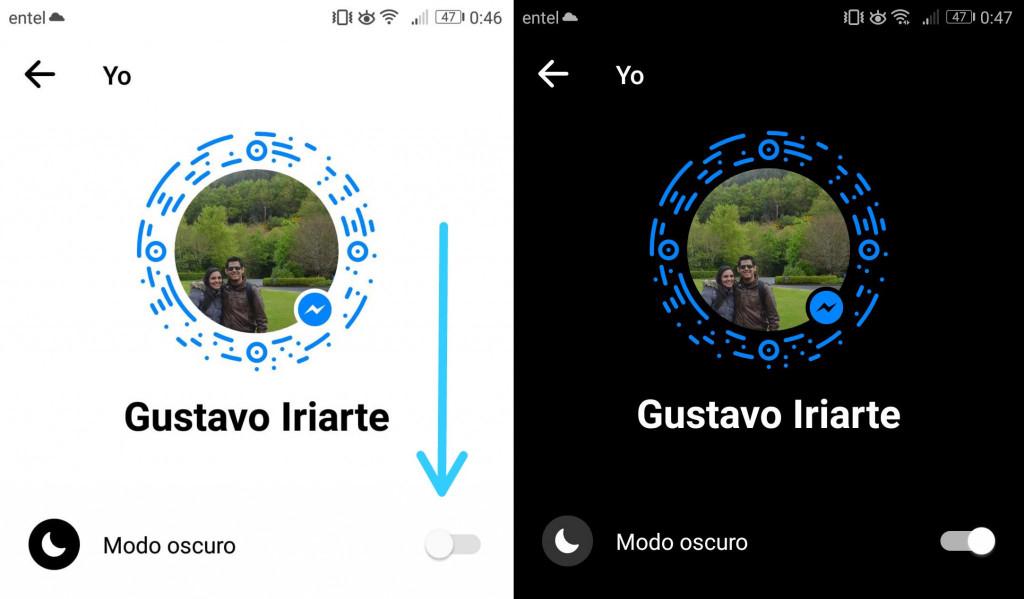 Imagen1 ¿Cómo activar el modo oscuro del Facebook Messenger?