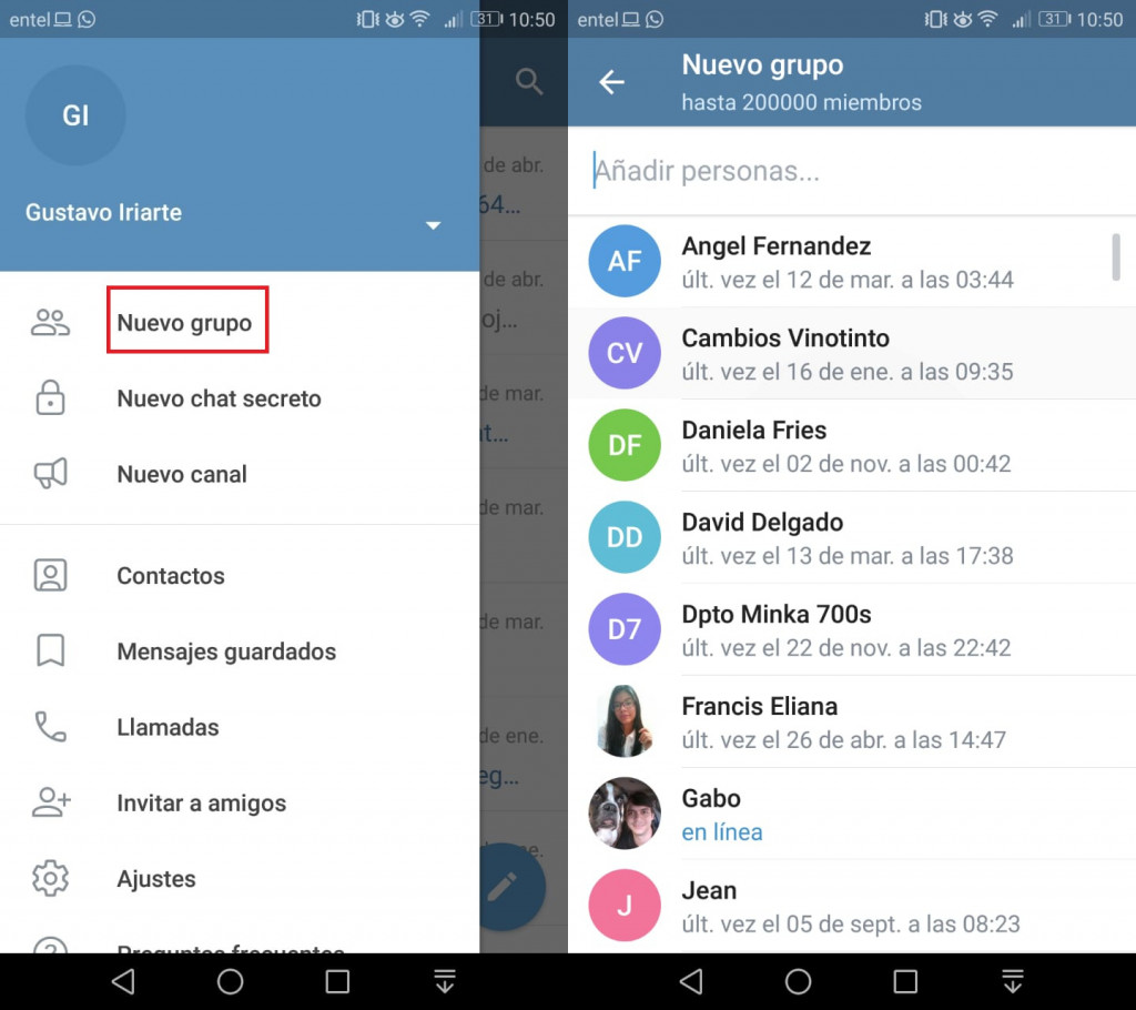 Imagen1 ¡Aprende a crear grupos y canales de Telegram!