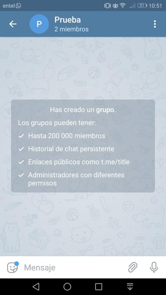 Imagen2 ¡Aprende a crear grupos y canales de Telegram!