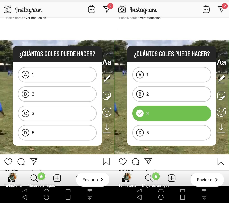 Imagen2 ¿Cómo crear cuestionarios en las historias de Instagram?