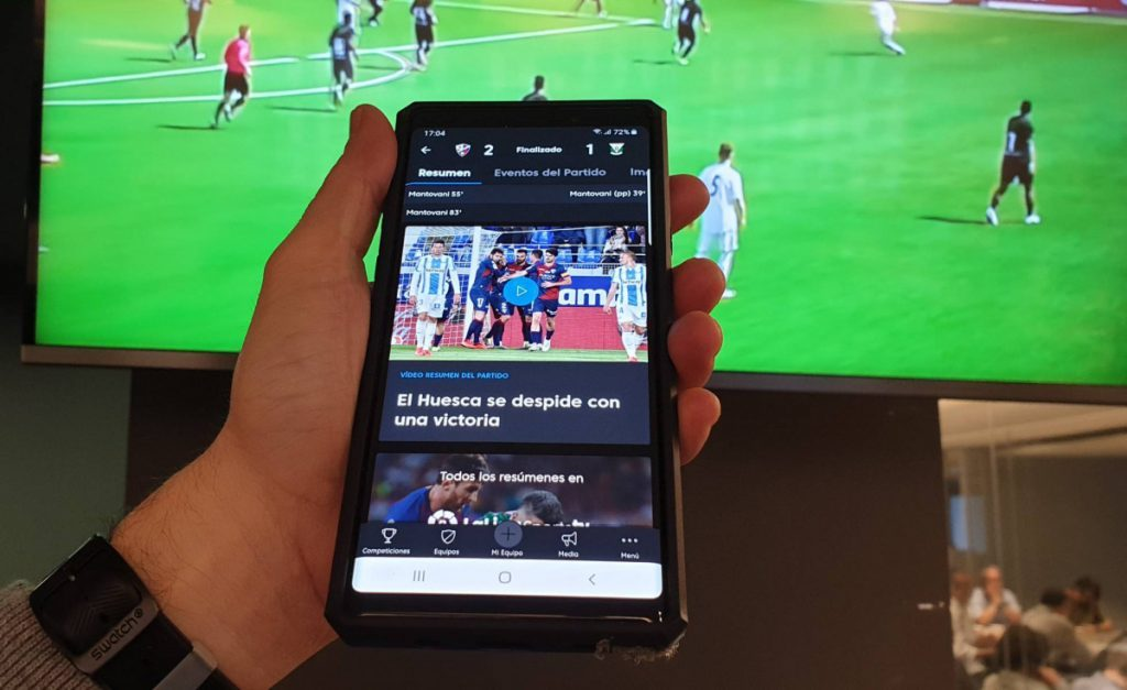 Top 5 de apps de información deportiva para Android