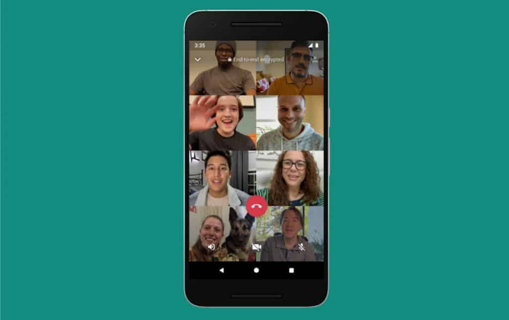 Haz videollamadas de hasta 50 personas en WhatsApp con Messenger Rooms