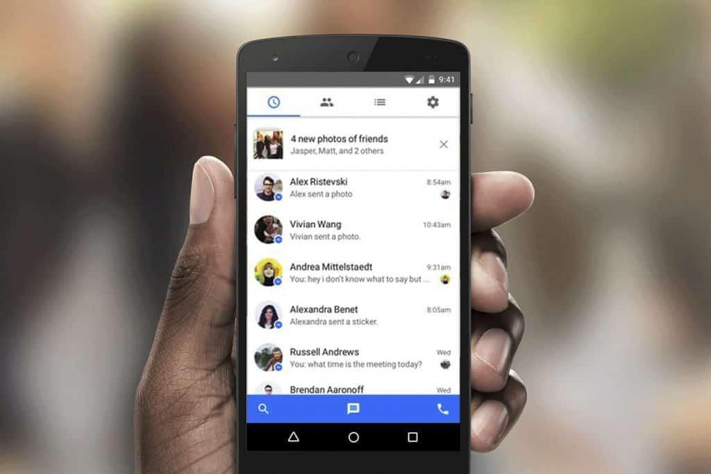 Cómo encontrar los mensajes ocultos de Facebook desde un Android