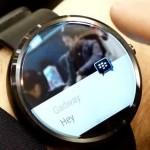 BBM disponible para los smartphones con Android Wear