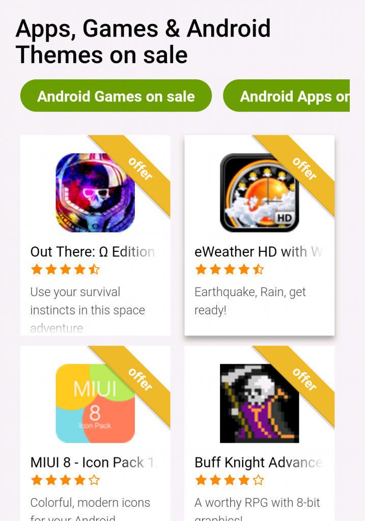 Image 3 Check our new section out: Android Apps on Sale!